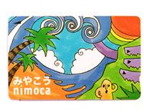 IC card Miyakoh nimoca
