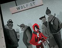 Little Red on Wolf Street