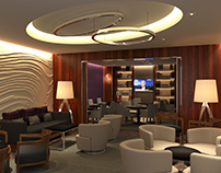 Crown Plaza Hotel Club Lounge