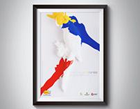Los colores de Colombia.