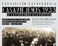 Cartel exposición 'Casaviejeños 1933'