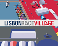 Lisbon Race Village - Wayfinding Project