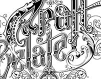 Craft Related - handlettered logo