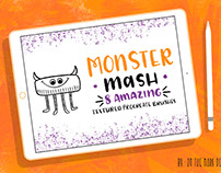 Monster Mash Procreate Brushes