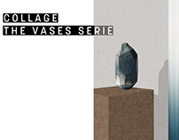 COLLAGE THE VASES SERIE
