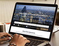 Chase Apartments Responsive Website Design