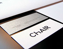 ChAIR Entertainment Visual Identity