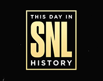 "Title Sequence for ""This Day in SNL History."""