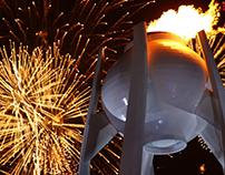2018 PyeongChang Olympic Flame