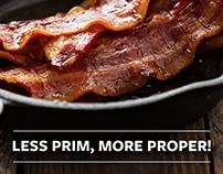 Proper Meats & Delicacies Brand Identity