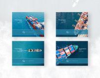Arc Logistics Presentation Cover Designs