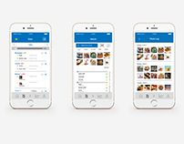 MyFitnessPal Re-Design Project