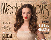 Evelyn Sharma on Wedding Vows Cover