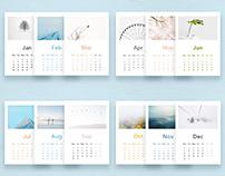 Calendar of Seasonal Minimalism