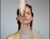 "Beauty editorial ""Sea life"" for Blanc magazine"