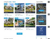 Real Estate Website - Pebble Softwares