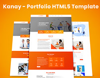 Kanay - Portfolio HTML5 Template