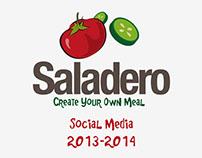 Saladero - Social media Designs