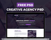 Free | Bloom Creative Agency Design Templates PSD