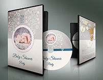 Baby Shower Party DVD Template Vol.3