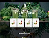 WS Juice – Smoothie WooCommerce Website Template