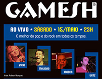 GAMESH web flyers (2008/2013)
