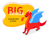 Big Bundle of Isometric Icons