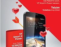 Vodafone - Lovers Offer Poster