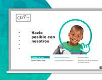 Clyc.me - Diseño web