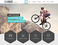 Lenze - Portfolio Photography WordPress Theme