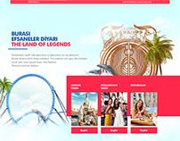 The Land Of Legends / Website & Mobile App