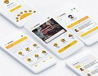 Worbbient UI App Design