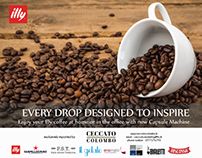 Illy Coffee Poster Concepts
