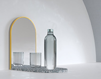 Bassena Wasserflasche