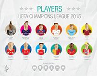 Illustration of Football Players