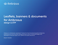 Ambrosus. Design & DTP