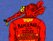 poster evento Levi´s e Black Ball