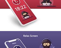 Pomodoro/Timer app concept