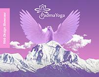 Padma Yoga - inspiring yoga class web site/online shop