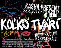 SOLO EXHIBITION 'KOLKO TVARI' IN HOKIRK /SK/