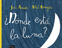 BOOK: ¿Dónde está la luna? (Where's the moon?)