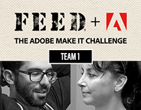 FEED+Adobe - The Adobe Make It Challenge