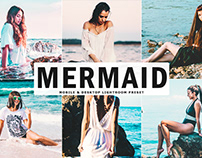 Free Mermaid Mobile & Desktop Lightroom Preset