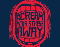 Scream Your Stress Away