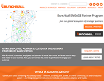 Bunchball Header, Partners and Website using Drupal 7