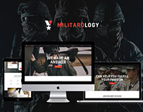 Militarology | Military Service WordPress Theme