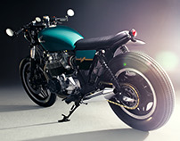 Bunker Customs Honda CB750C