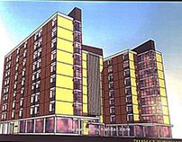 Desain Arsitektur Rusun Apartement Makasar