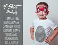 Kids T-Shirt Mock-Up Vol.9 2017