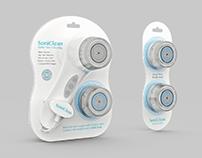 SoniClean - Facial Brush Packaging Design